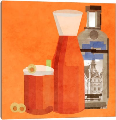 Classic Bloody Mary Canvas Print #GSP10