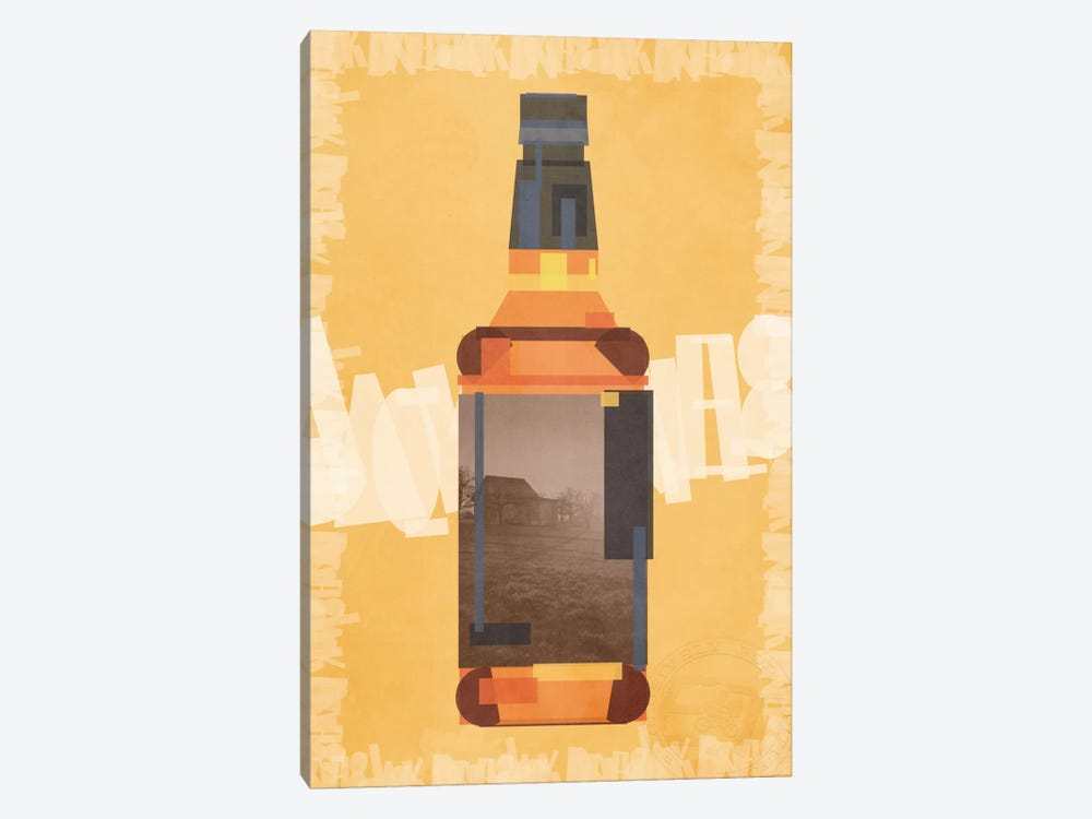 Gentleman's Jack by 5by5collective 1-piece Canvas Art Print