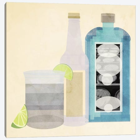 Gin & Tonic Canvas Print #GSP18} by 5by5collective Canvas Art Print
