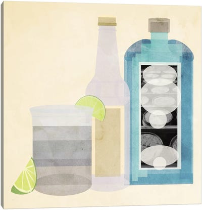 Gin & Tonic Canvas Art Print