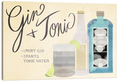 How to Create a Gin & Tonic Canvas Art Print