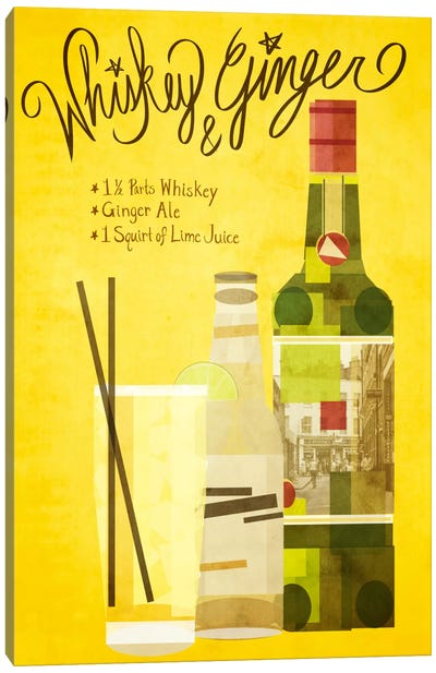 How to Create a Whiskey & Ginger Canvas Art Print