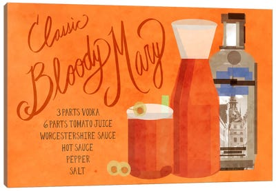 How to Create a Classic Bloody Mary Canvas Print #GSP23