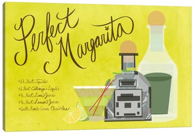 How to Create the Perfect Margarita Canvas Print #GSP24