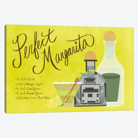 How to Create the Perfect Margarita Canvas Print #GSP24} by 5by5collective Canvas Print