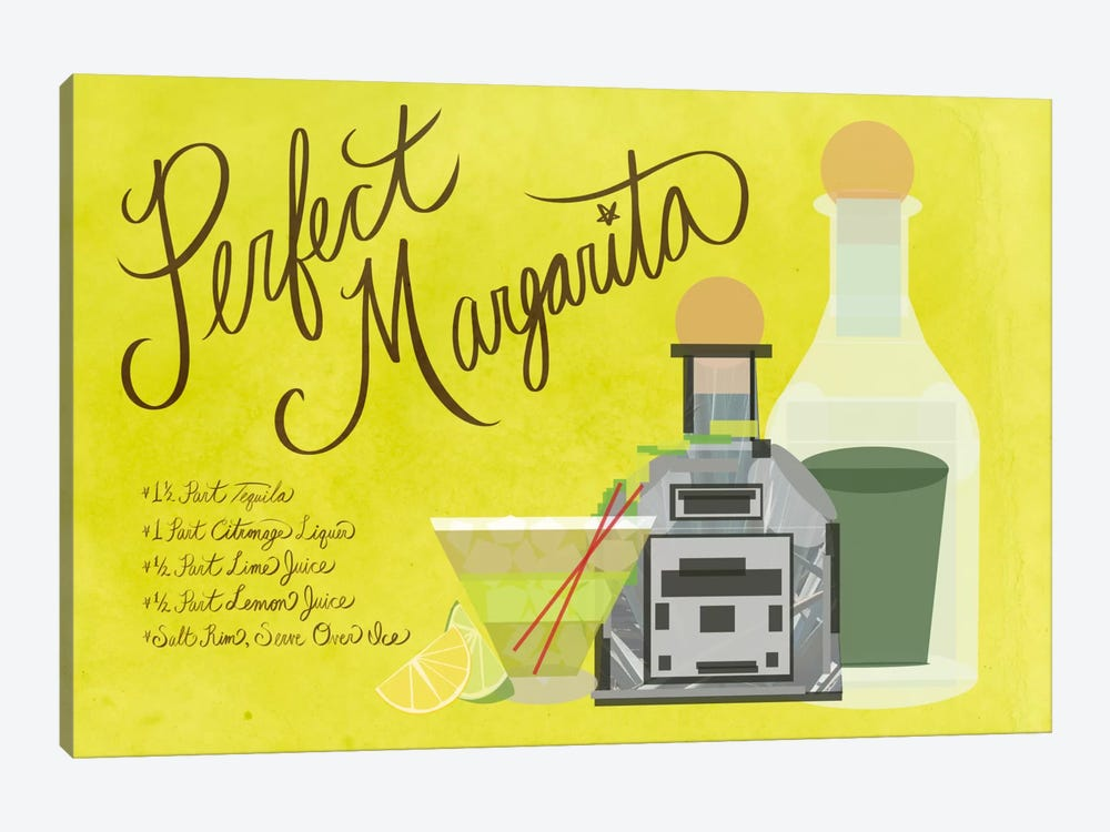 How to Create the Perfect Margarita by 5by5collective 1-piece Canvas Wall Art