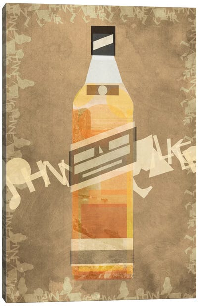 Johnnie Canvas Art Print