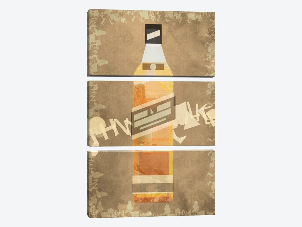Johnnie by 5by5collective 3-piece Art Print