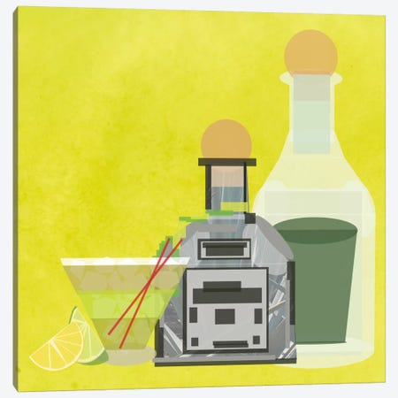 Perfect Margarita Canvas Print #GSP29} by 5by5collective Canvas Artwork