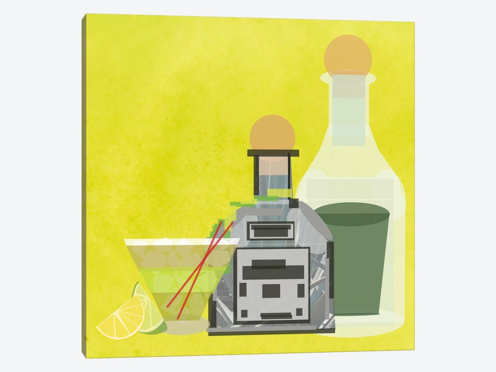 Perfect Margarita by 5by5collective 1-piece Art Print