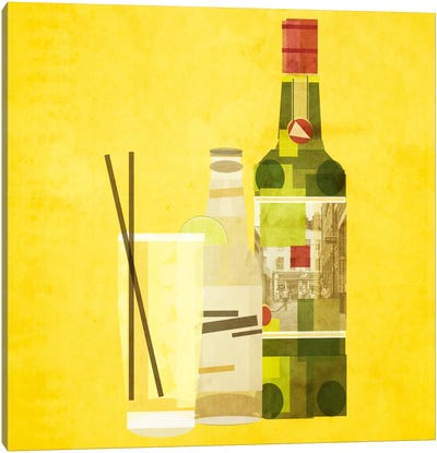 Whiskey & Ginger Canvas Art Print