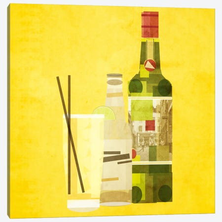 Whiskey & Ginger Canvas Print #GSP31} by 5by5collective Art Print
