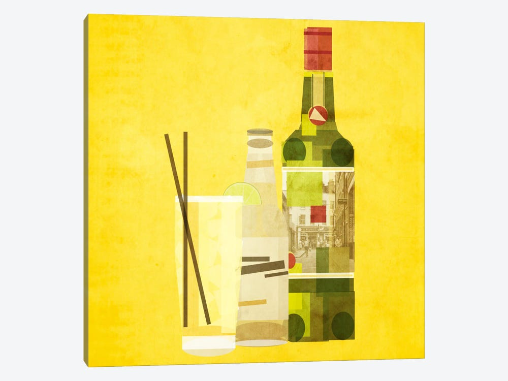 Whiskey & Ginger by 5by5collective 1-piece Canvas Artwork