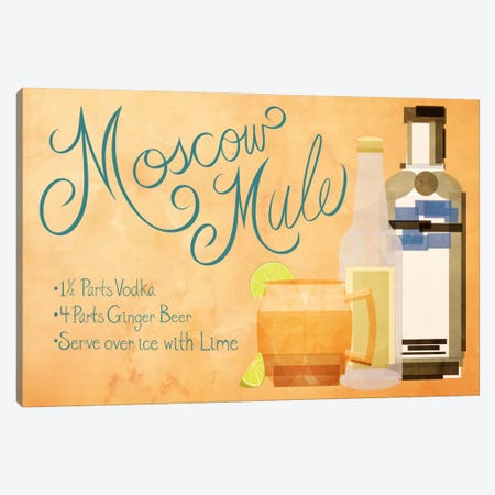 How to Create a Moscow Mule Canvas Print #GSP33} by 5by5collective Canvas Art Print