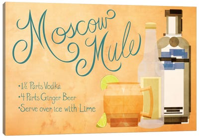 How to Create a Moscow Mule Canvas Art Print