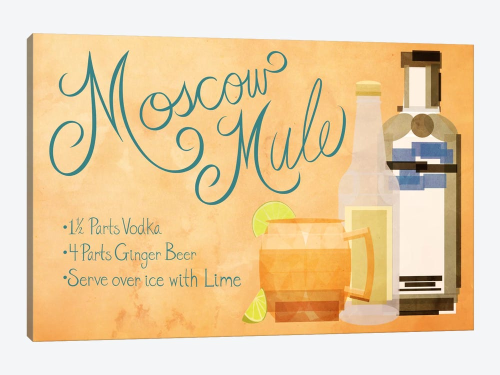 How to Create a Moscow Mule by 5by5collective 1-piece Canvas Art