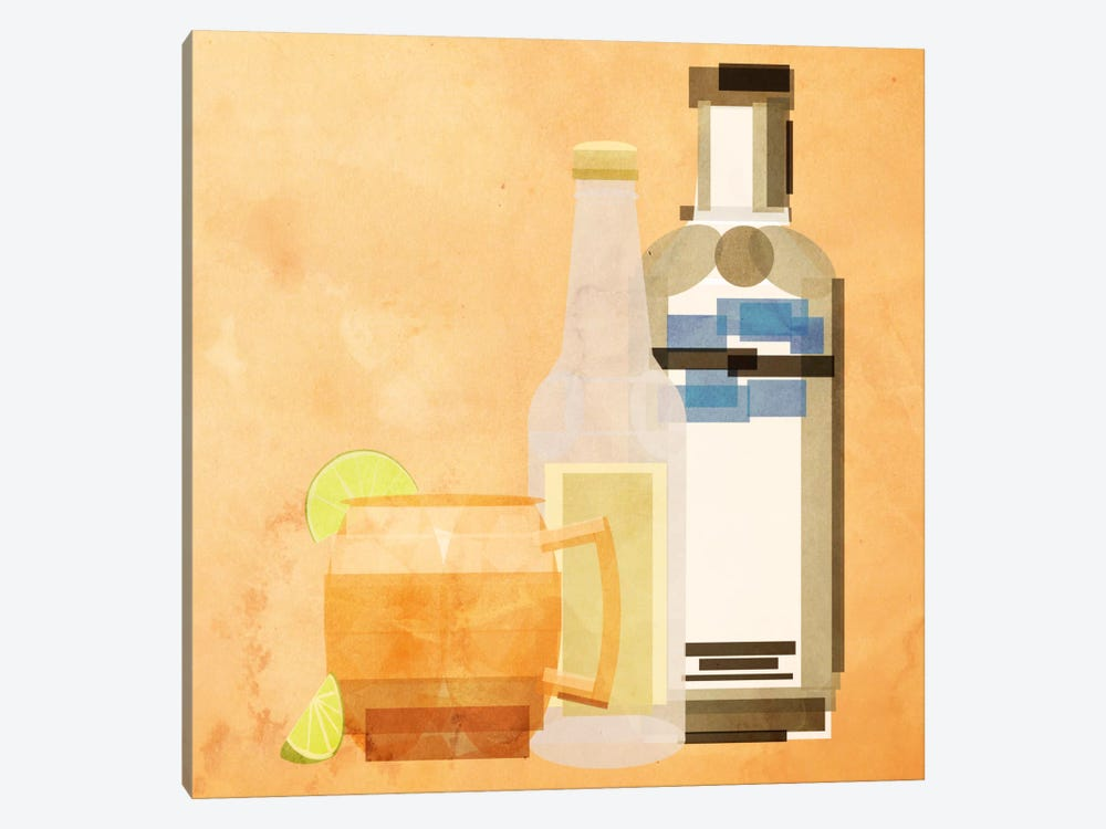 Moscow Mule by 5by5collective 1-piece Canvas Art Print