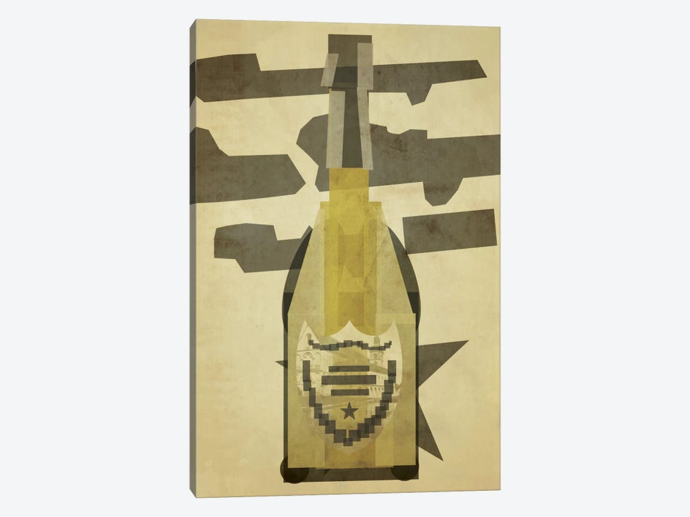 Perignon by 5by5collective 1-piece Art Print