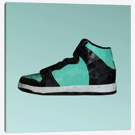 SB Dunk: Breakfast At Tiffany's Canvas Print #GSS13} by 5by5collective Canvas Artwork