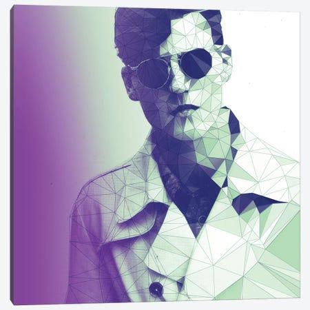 Fashion Snob Purple Haze 3-Piece Canvas #GSS16} by 5by5collective Canvas Art Print