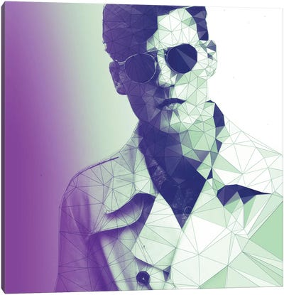 Fashion Snob Purple Haze Canvas Art Print