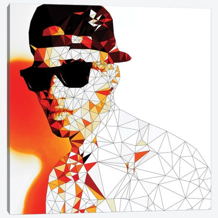 Stunna Shades In Color Canvas Print #GSS17} by 5by5collective Canvas Art Print
