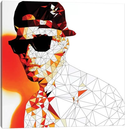 Stunna Shades In Color Canvas Art Print
