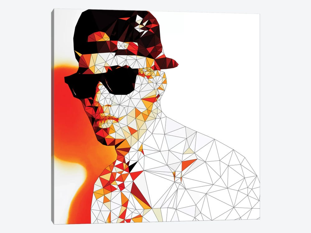 Stunna Shades in color by 5by5collective 1-piece Canvas Artwork