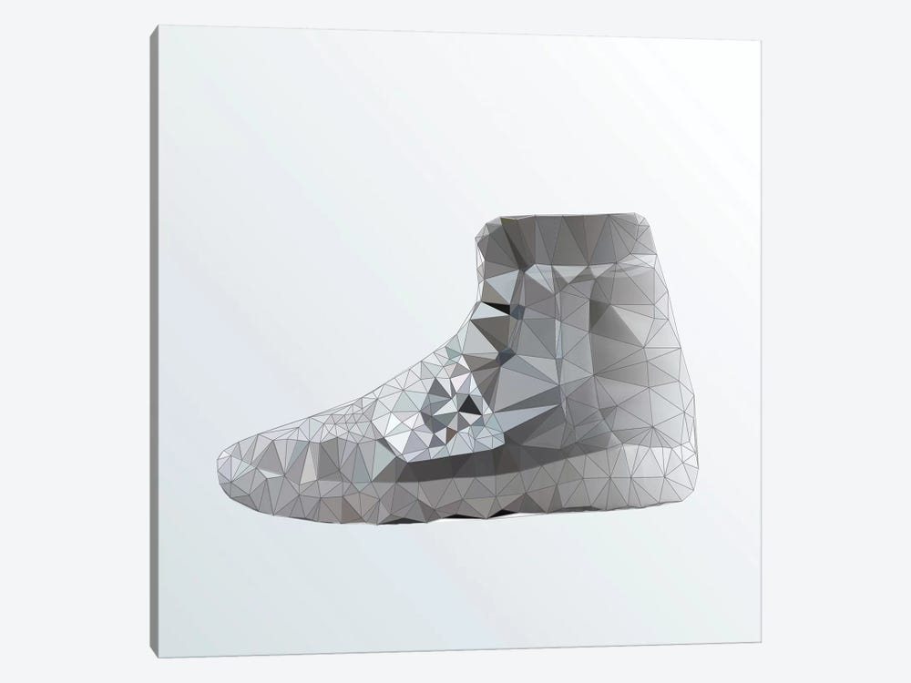 Yeezy 750 Boost: Grey by 5by5collective 1-piece Canvas Art