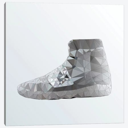 Yeezy 750 Boost: Grey Canvas Print #GSS1} by 5by5collective Canvas Art Print
