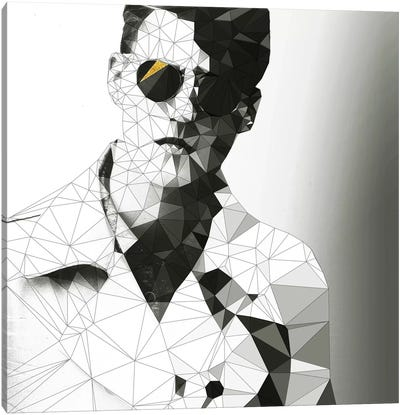 Geometry Style Canvas Art Print