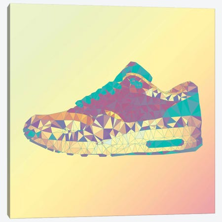 Air Max 1: Rio Sunrise Canvas Print #GSS26} by 5by5collective Canvas Artwork