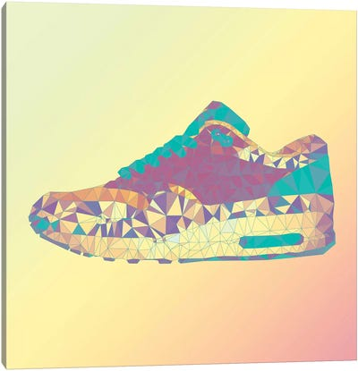 Air Max 1: Rio Sunrise Canvas Art Print