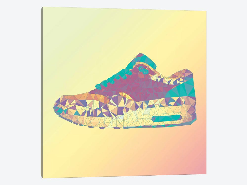 Air Max 1: Rio Sunrise by 5by5collective 1-piece Canvas Art
