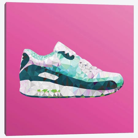Air Max 90: Emerald Pack Canvas Print #GSS27} by 5by5collective Canvas Wall Art