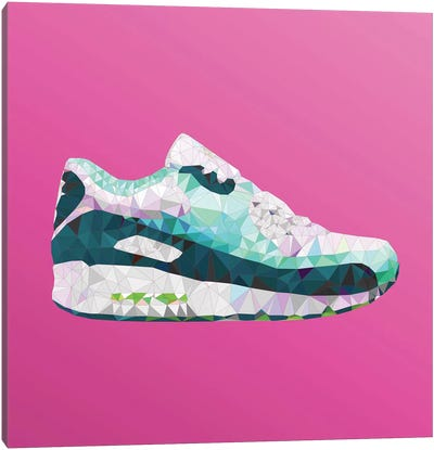 Air Max 90: Emerald Pack Canvas Art Print