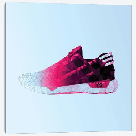 Y-3 Qasa Racer: Cotton Candy Canvas Print #GSS2} by 5by5collective Canvas Art Print
