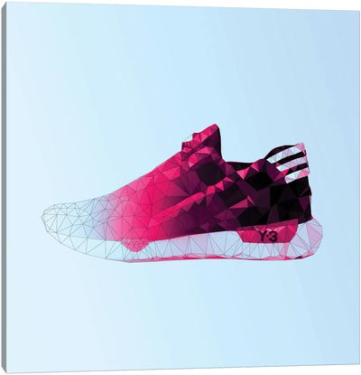 Y-3 Qasa Racer: Cotton Candy Canvas Art Print
