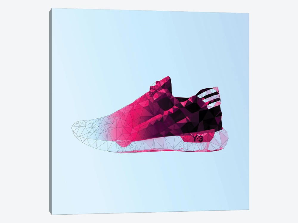 Y-3 Qasa Racer: Cotton Candy by 5by5collective 1-piece Canvas Print
