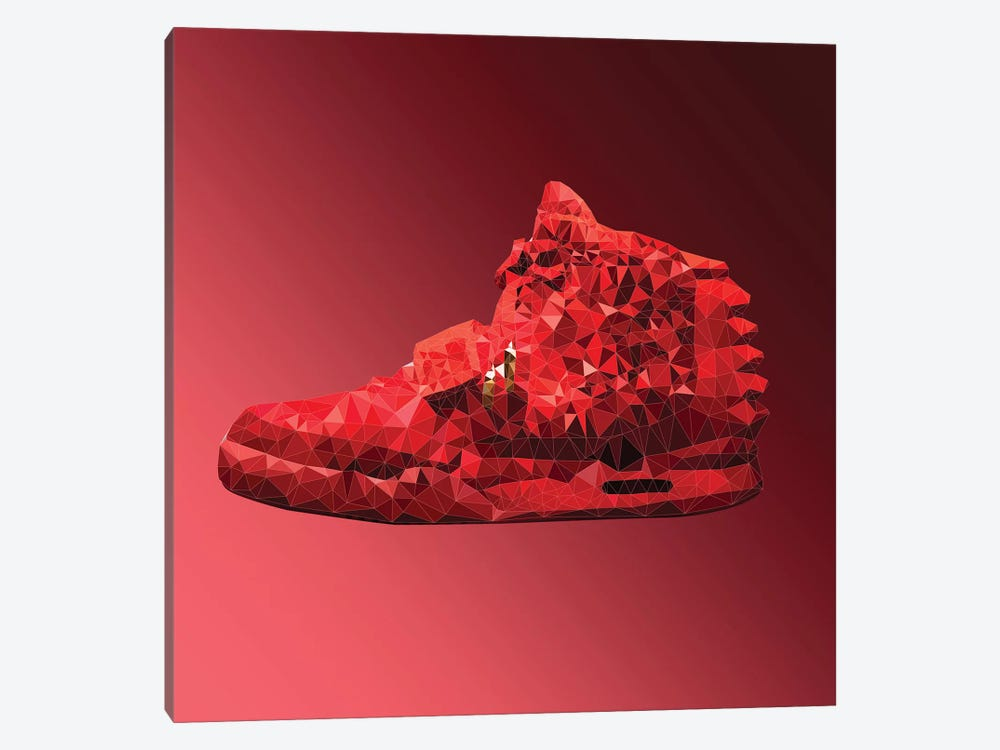 Air Yeezy 2: Red October by 5by5collective 1-piece Art Print