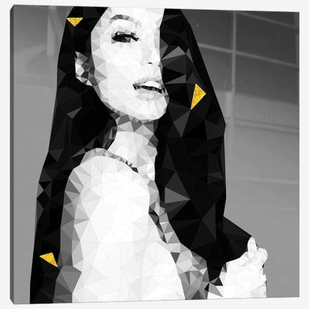 Seductive Look Through Gold Canvas Print #GSS5} by 5by5collective Canvas Art