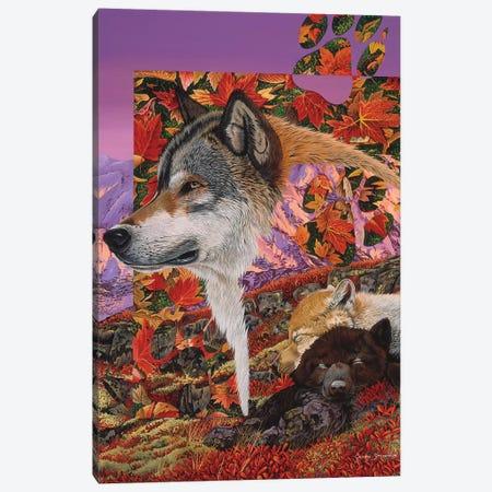 Alaska Dreaming Canvas Print #GST104} by Graeme Stevenson Canvas Print