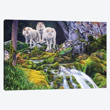 Alaskan Brothers Canvas Print #GST105} by Graeme Stevenson Canvas Art Print