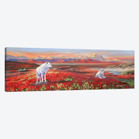 Arctic Bond Canvas Print #GST110} by Graeme Stevenson Canvas Print