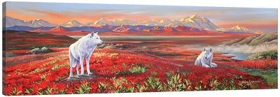 Arctic Bond Canvas Art Print