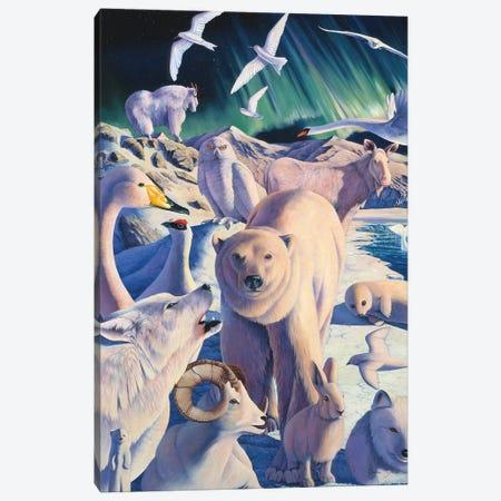 Arctic Mysteries Canvas Print #GST111} by Graeme Stevenson Art Print