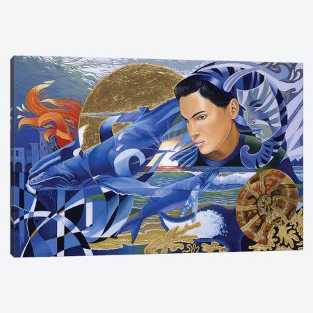 Atlantis Rising Canvas Print #GST114} by Graeme Stevenson Canvas Artwork