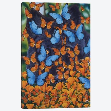 Autumn Butterflies 3-Piece Canvas #GST115} by Graeme Stevenson Canvas Wall Art