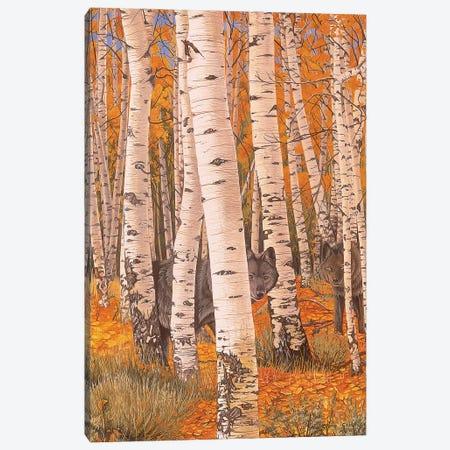 Autumn Eyes Canvas Print #GST116} by Graeme Stevenson Canvas Artwork