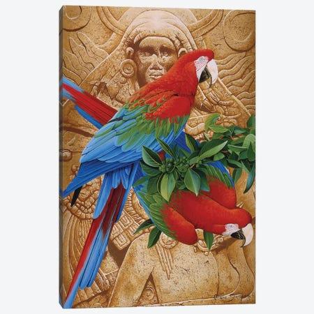 Aztec Rainbow Canvas Print #GST119} by Graeme Stevenson Canvas Print